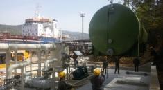 Završetak radova na sustavu za prikupljanje i obradu hlapivih organskih spojeva u rafineriji nafte Rijeka, Luka Bakar
